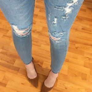 Marina Distressed Skinnies